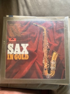 Max Greger-Sax In Gold LP B5bff110