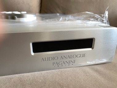 Audio Analogue Paganini CD player (Used)Sold  Bff94910