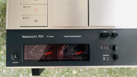 Nakamichi 700 Nakamichi 700 Tri Tracer Cassette Deck Player (used) E4a20f10