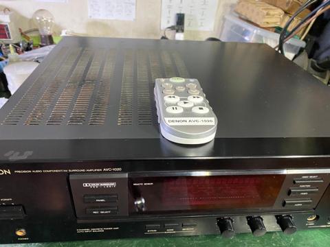 Denon AVC 1020 AV amp (Used) E60d0510
