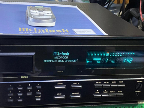 McIntosh MCD7008 cd changer player (Used) F17afa10