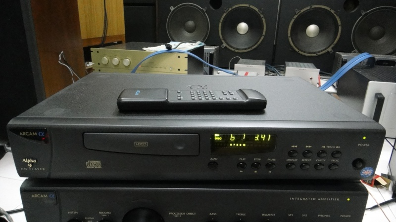 Arcam alpha 9 cd player (Used)SOLD Dsc01270