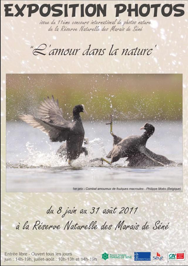 Exposition de photos Réserve naturelle des marais de Séné du 8 juin au 31 août 2011 Sans_t11