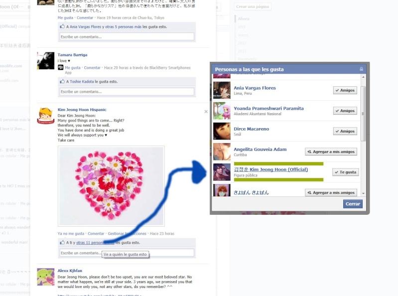Recibimos un me GUSTA  Facebo10