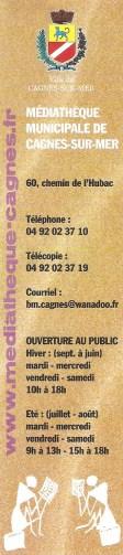 Bibliothèque municipale de Cagnes sur mer 019_1113