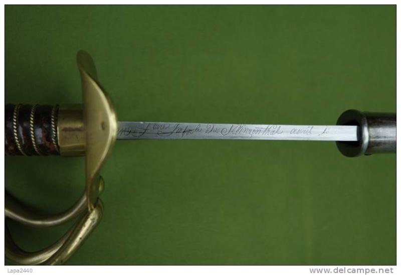 Sabre FR 1813 et US 1862. 505_0010