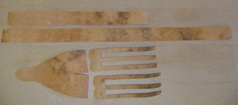 Confectionner un baudrier de rapière XVII°. Dsc05424