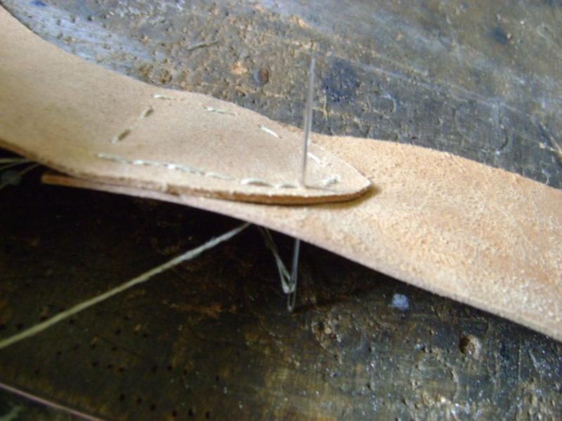 Confectionner un baudrier de rapière XVII°. Dsc05514