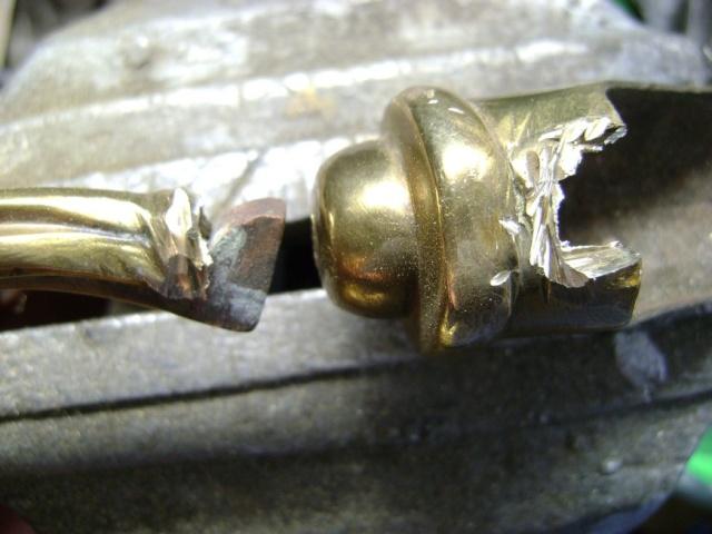 Restauration d'une poignée de sabre 1822. Dsc05725