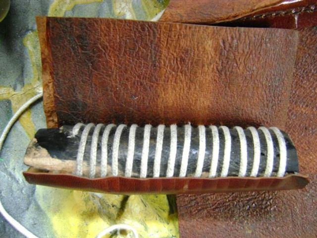 Restauration d'une poignée de sabre 1822. Dsc05733