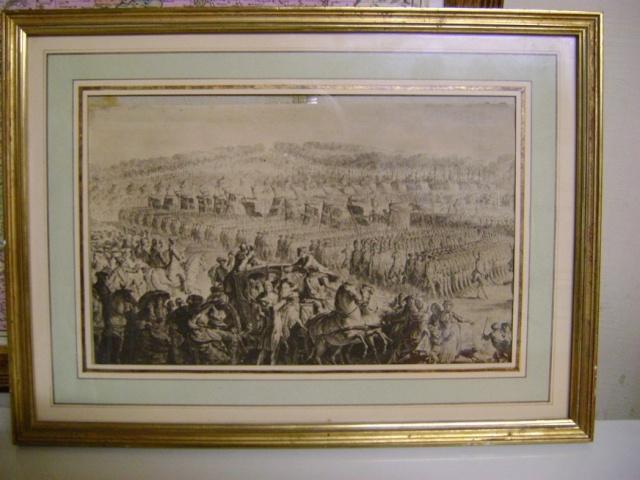 Gravure Ancien Régime. Dsc05826