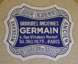 Gravure Ancien Régime. Dsc05827