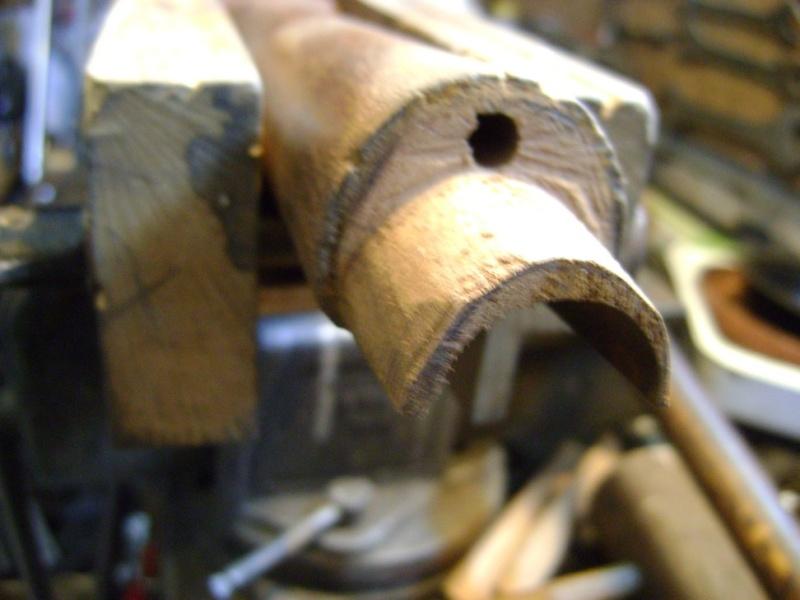 Réparation des crosses: les entures Dsc05972