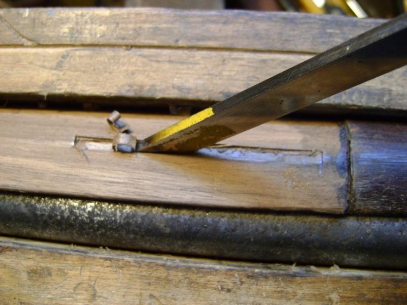 Réparation des crosses: les entures Dsc05983