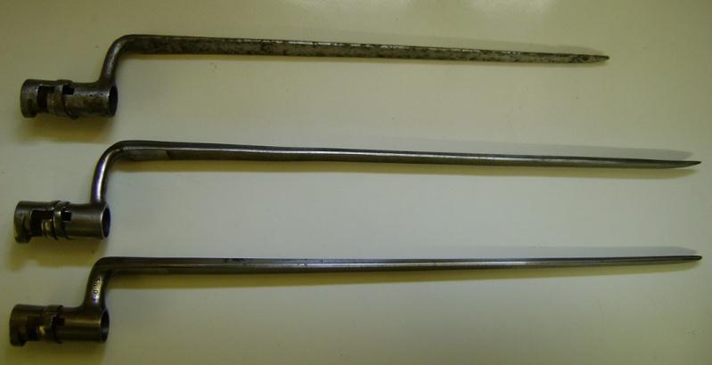 Différences entre les baïonnettes AN IX, 1822 et 1847 et leur fabrication. Dsc06102