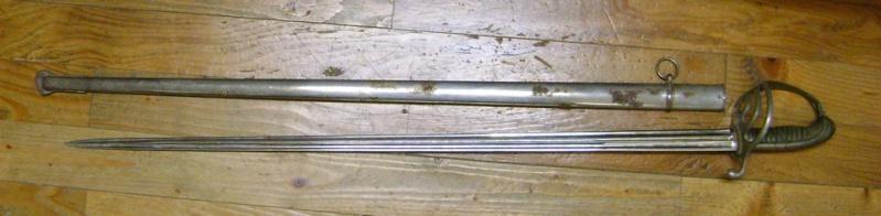 Restauration d'un curieux sabre 1882. Dsc06336