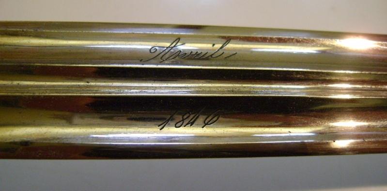 Restauration d'un curieux sabre 1882. Dsc06342