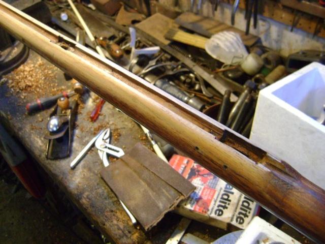 """Fusil 1717 """"des Indes"""", comment le refaire plus réaliste. Dsc07210"""