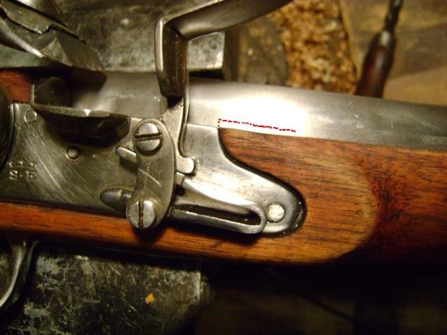 """Fusil 1717 """"des Indes"""", comment le refaire plus réaliste. Dsc07228"""