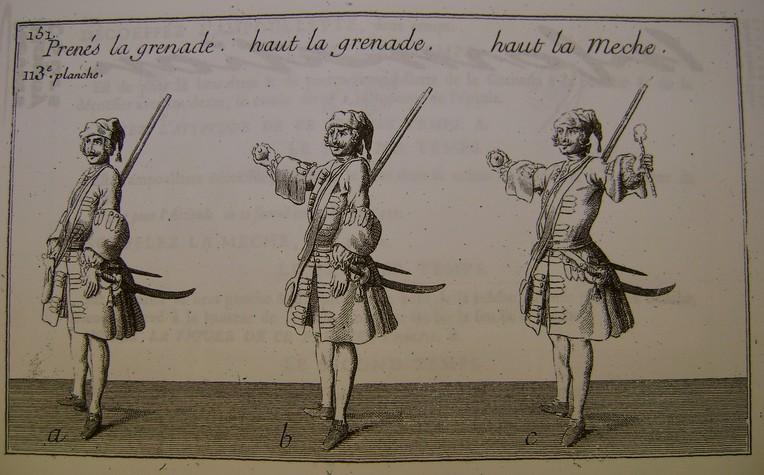 """L'art de """"jetter"""" les grenades aux XVII° et XVIII° siècle. Dsc07345"""