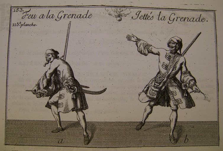 """L'art de """"jetter"""" les grenades aux XVII° et XVIII° siècle. Dsc07347"""