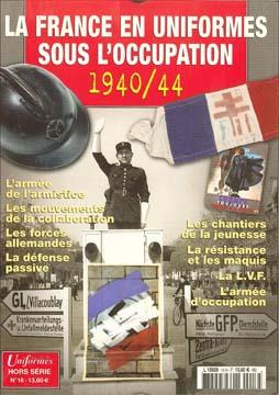 """Objets de la vie quotidiennes des français""""civils et mili"""" pendant l'occupation Hs_uni11"""