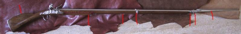 """Fusil 1717 """"des Indes"""", comment le refaire plus réaliste. Mousqu10"""