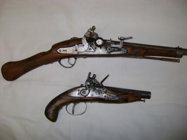 Les armes africaines et du Moyen-Orient. Pistol10