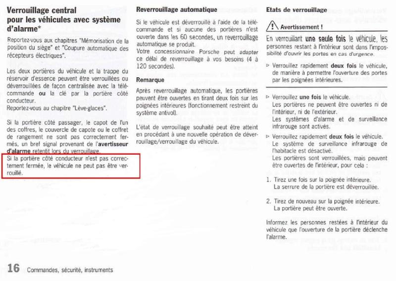 Fonctionnement normal de la fermeture - Page 3 Alarme14
