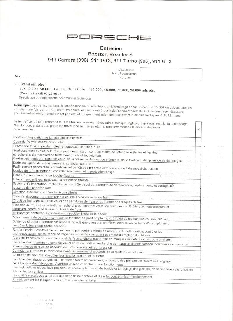Liste des Entretiens périodiques :  Boxster 986 Hpqsca11