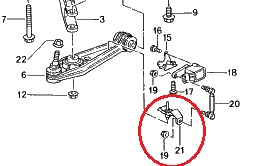 Remplacement des triangles de trains AV,AR(rotules) et amortisseurs sur 986  Pl711