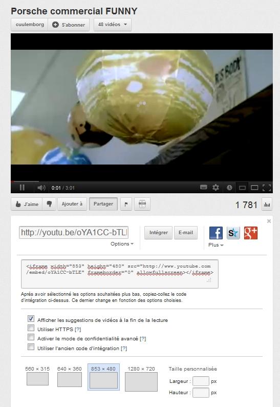 Comment insérer une image sur le forum en vidéo Youtub10