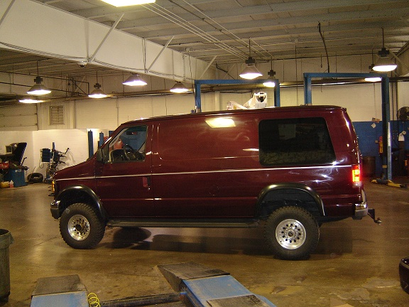 2004 FORD E350 POWERSTROKE 4X4 Van_110