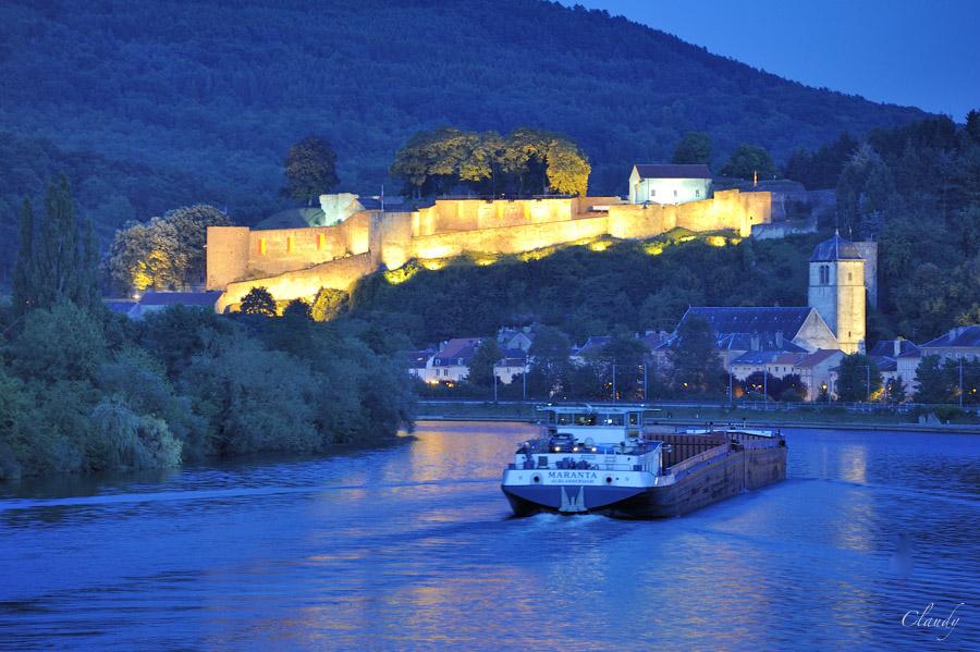 Sortie Château de Malbrouck, Château de de Sierck et point de vue au Stromberg le 16 juin 10071910