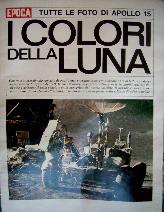 Apollo 15 - La mission - Rares Documents, Photos, et autres ... Epoca10
