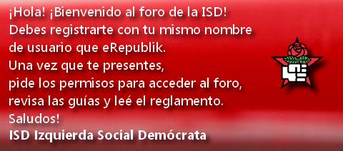ISD - Izquierda Socialdemócrata Reg10