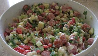 La salade de pâtes 16823510