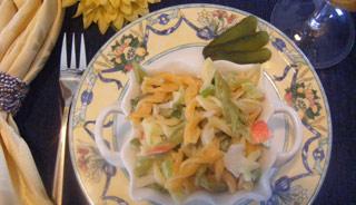 La salade de pâtes 18869410