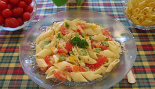 La salade de pâtes 19424510