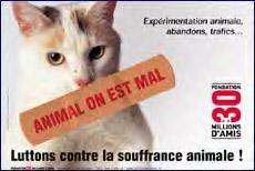 """""""Animal on est mal"""" : Message choc contre des pratiques qui choquent ! (Fondation 30 millions d'amis) Animal11"""