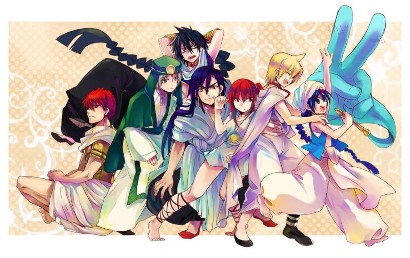 Magi The Labyrinth of Magic 61696510