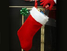 Noël: est un parent, avec un bas de laine. I_basn10