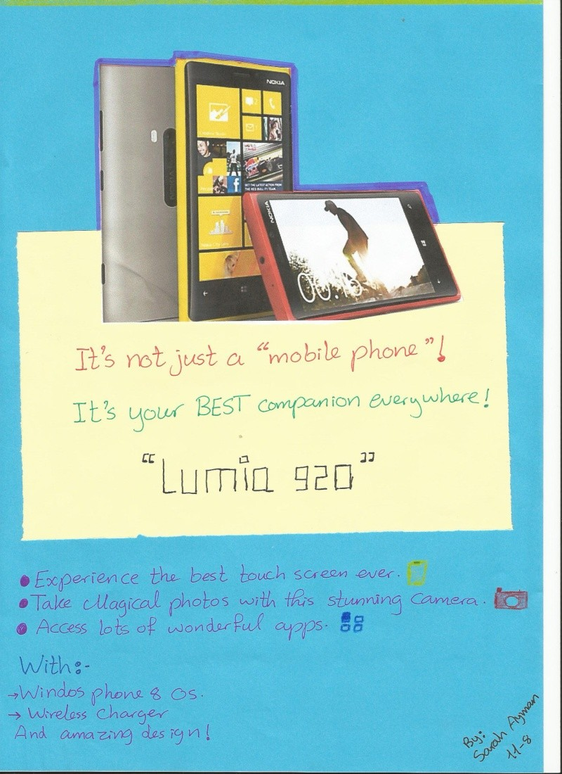 My advertisement for Lumia 920 :D  Adv10