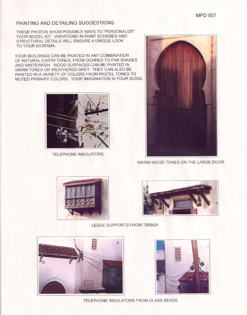 Rues et maisons arabes de chez Monroe Perdu Studios aux 1/32éme Image106
