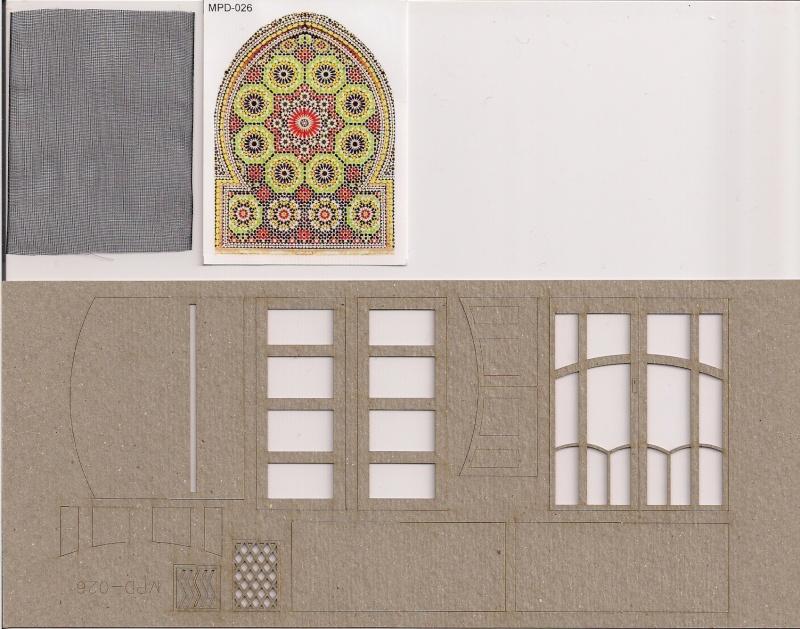 Rues et maisons arabes de chez Monroe Perdu Studios aux 1/32éme Image108