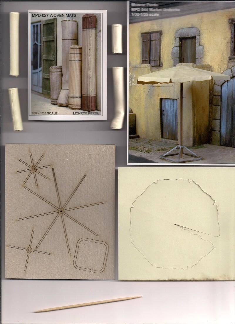 Rues et maisons arabes de chez Monroe Perdu Studios aux 1/32éme Image110