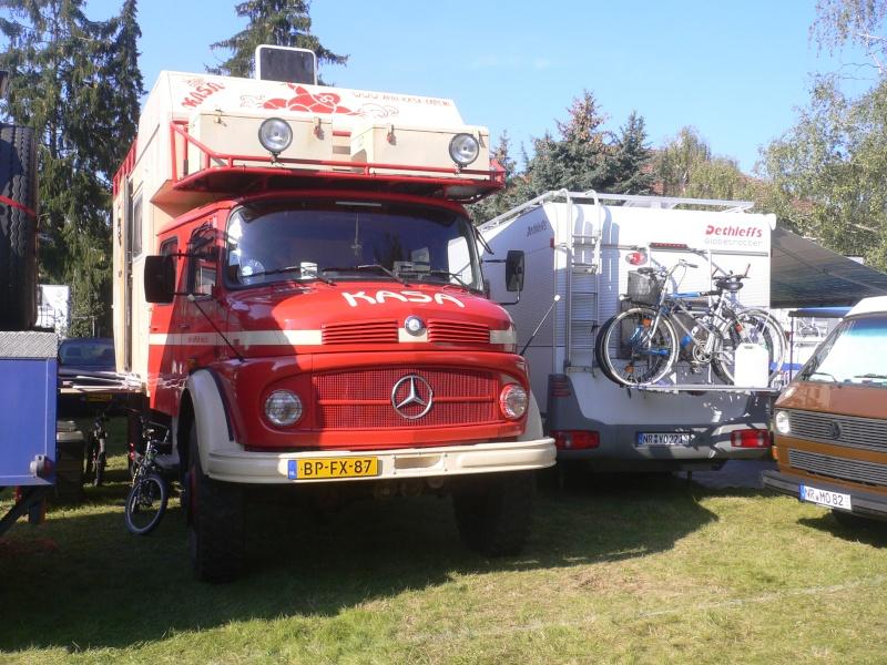 Rassemblement Camions et vide grenier à Mendig Allemagne Willys11