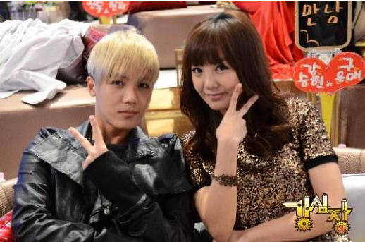 Mir (MBLAQ) et sa soeur Go Eun Ah ensemble dans l'émission « Strong Heart » Mir-mb10