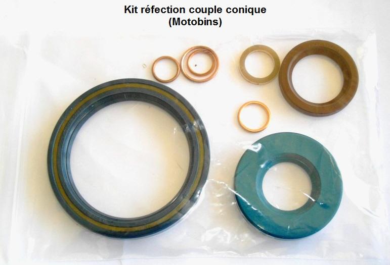 [R100S 1978] Réfection d'un couple conique 32/11 fuyard Bb10