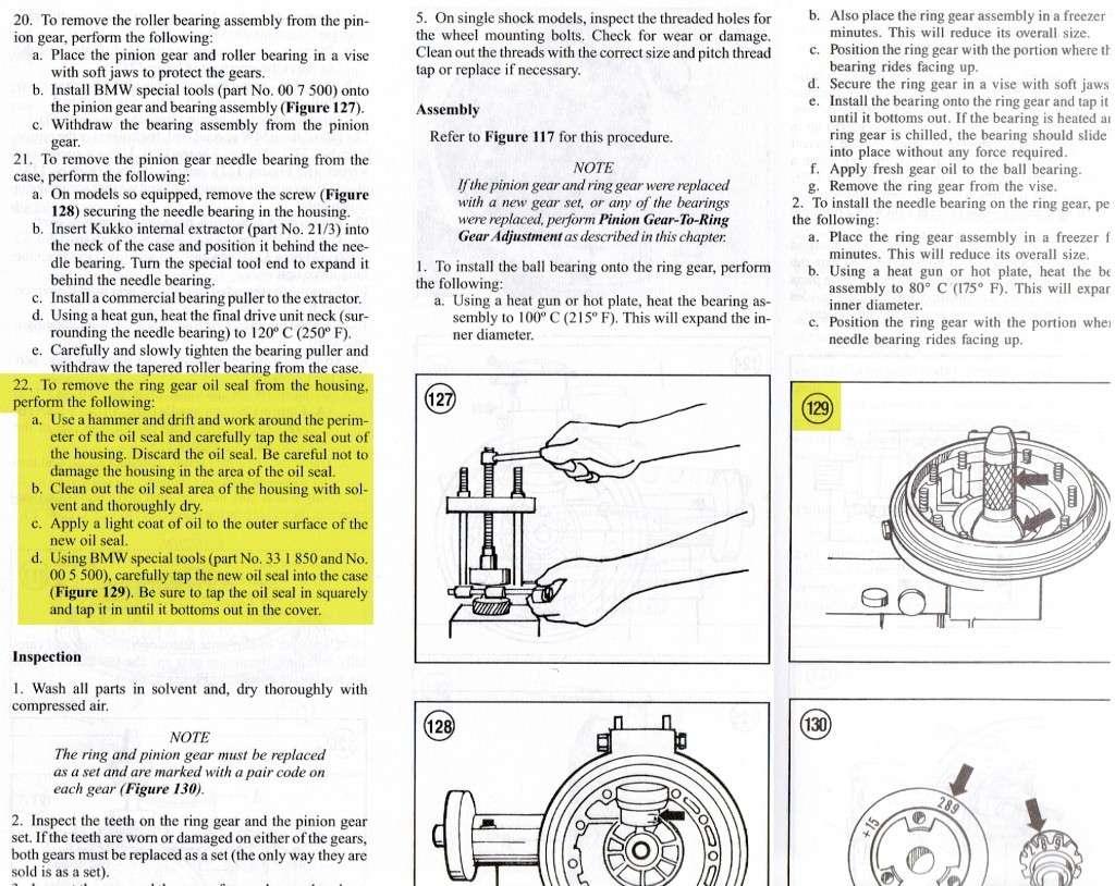 [R100S 1978] Réfection d'un couple conique 32/11 fuyard Ccc10